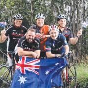 MIA BAM Peloton Australia Day Bunchee